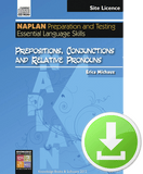 Prepositions, Conjunctions and Relative Pronouns (Downloadable File)