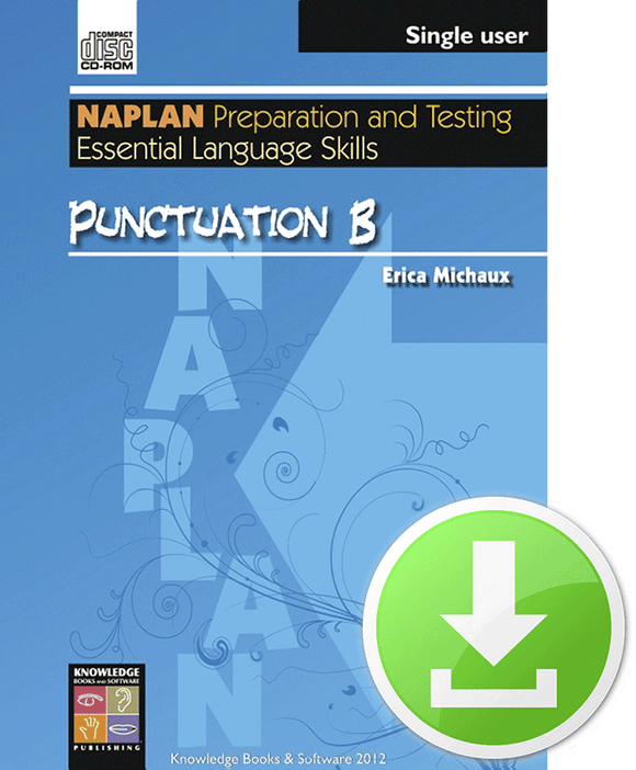Punctuation B (Downloadable File)