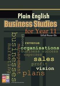 Plain English Business Studies for Year 11 9781741621358