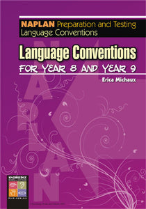 Language Conventions for Year 8 and Year 9 9781920696955