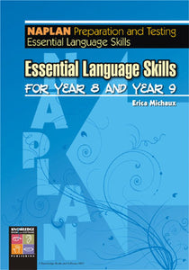 Essential Language Skills for Year 8 and Year 9 9781920824525
