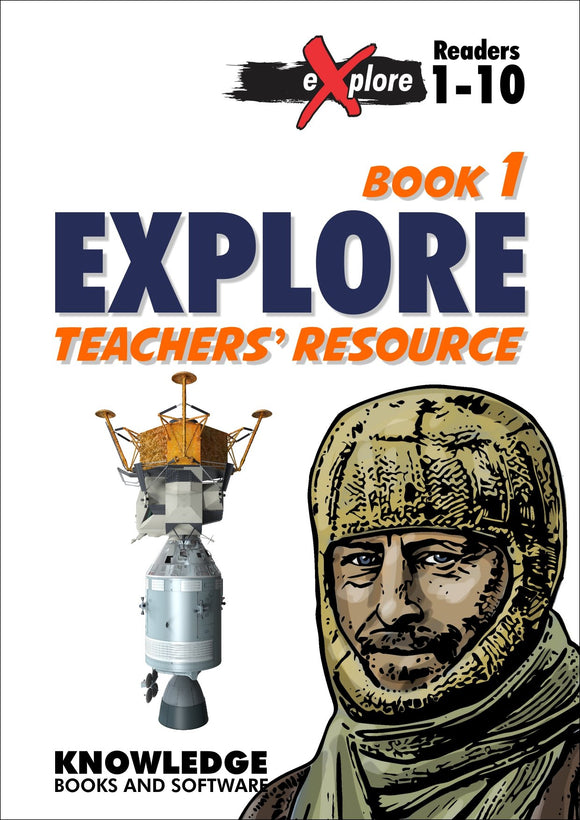 eXplore Set 1 Books 1-10 Teacher Resource 9781922370525