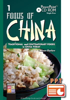 Foods of China 1 (PowerPoint CD-ROM)