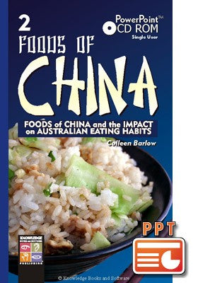 Foods of China 2 (PowerPoint CD-ROM)