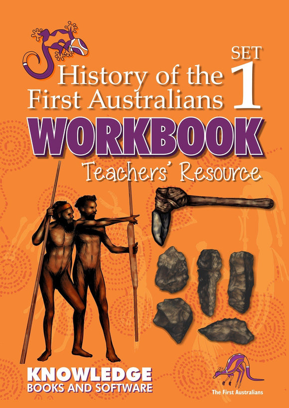 History of the First Australians Set 1 (Books 1-20) - Teacher Resource 9781925714395
