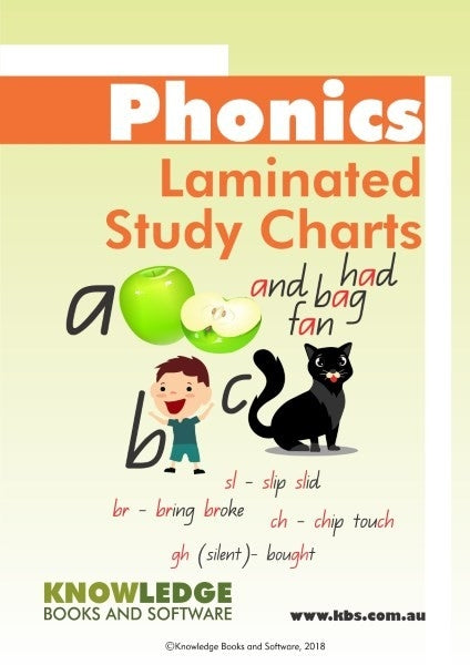 Phonics Starter Pack of 6 Laminated Charts PHONIC-SP06