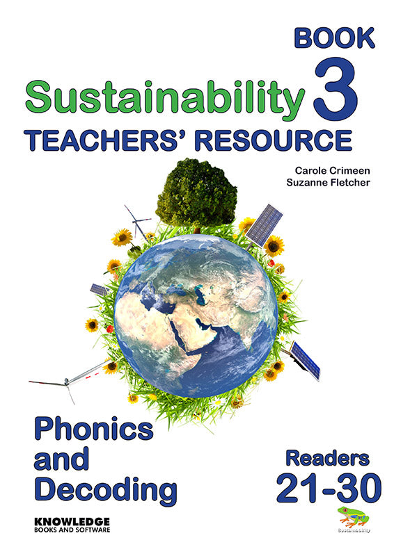 Sustainability Set 2 Readers 21-30 Teacher Resource 9781922370570