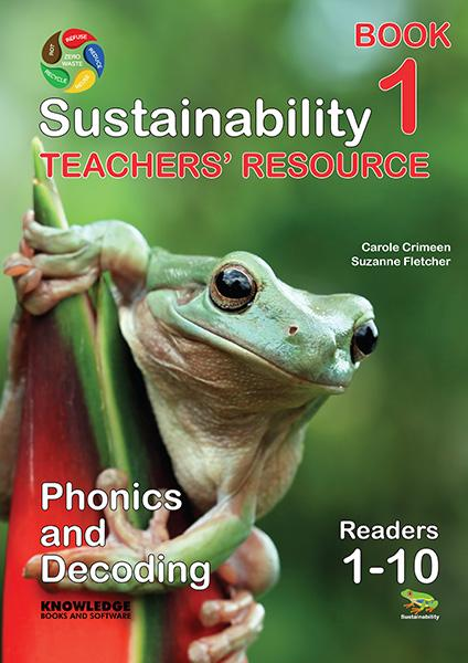 Sustainability Set 1 Readers 1-10 Teacher Resource 9781922370501