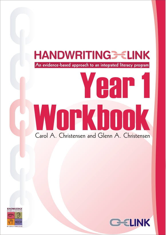 Handwriting Link Year 1 Workbook 9781921016448