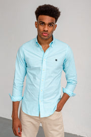 {{ tipo de producto }} CAMISA OXFORD TURQUESA BUTTON DOWN - Harrys 1982