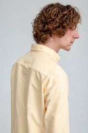 {{ tipo de producto }} CAMISA OXFORD AMARILLO BUTTON DOWN - Harrys 1982