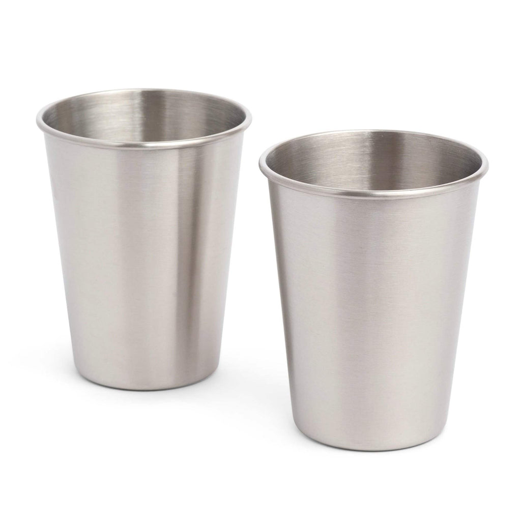 Stainless Steel Small Cups Set of Two