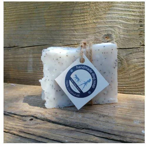 Dog Soap-Poppy Seed and Lavender,100g