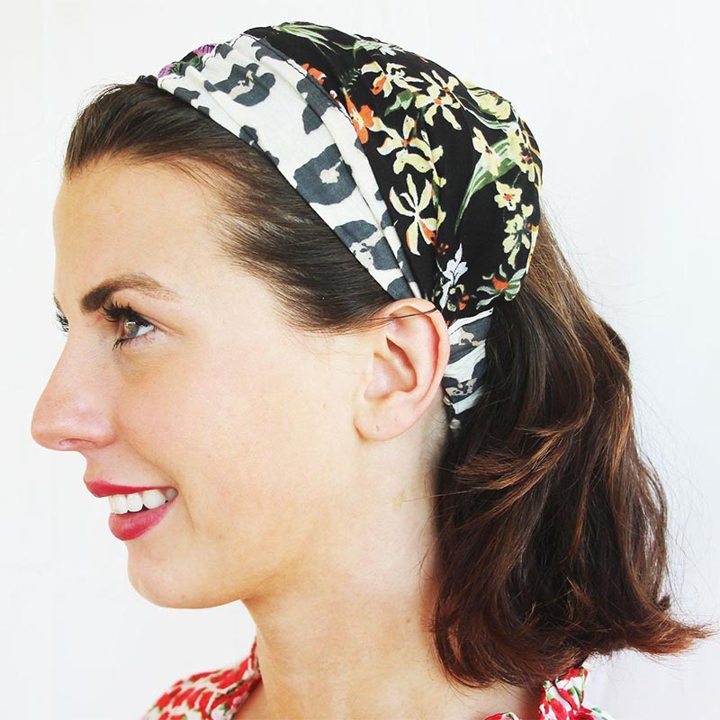 CHEAP Upcycled Patchwork Bandana 28723196615 – Women's Accessories