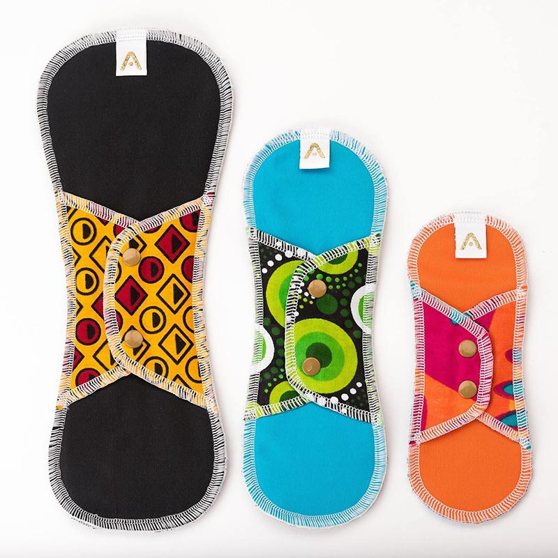 Reusable Sanitary Pads-Multi Pack