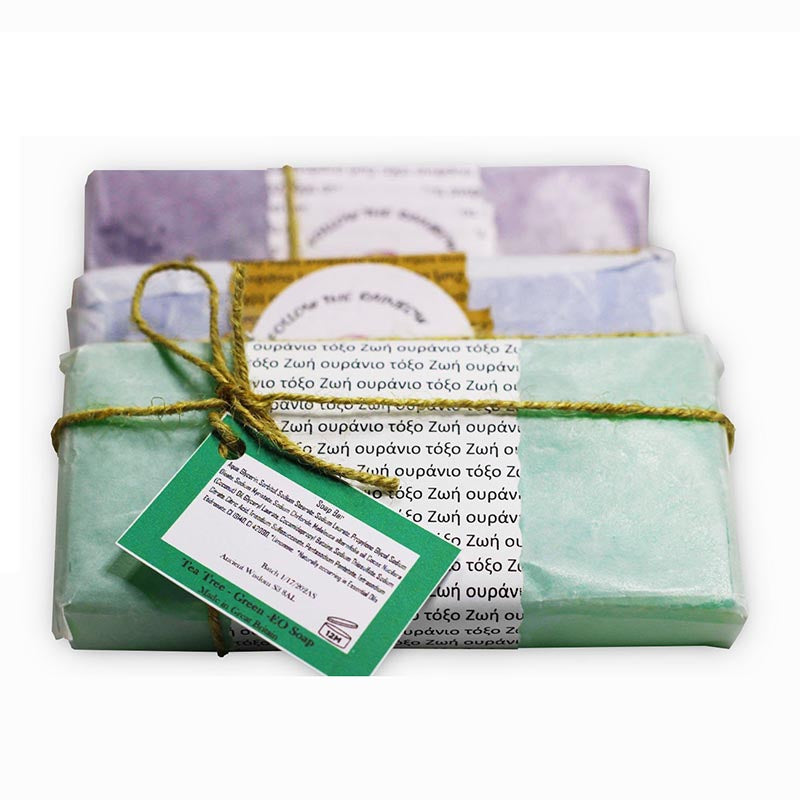 Aromatherapy Tea Tree Green Essential Oil Soap - Rainbow Life