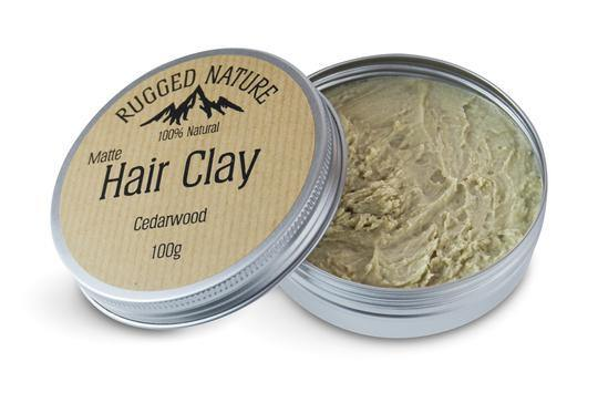 Hair Clay-Cedarwood