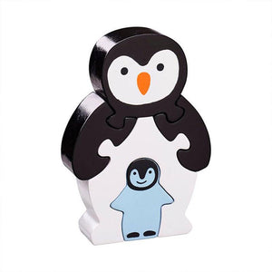 Simple Jigsaw Puzzle - Penguin & Chick