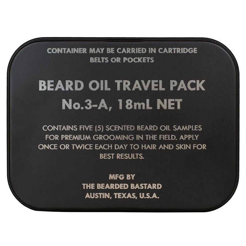 TBB Beard Oil Travel Pack