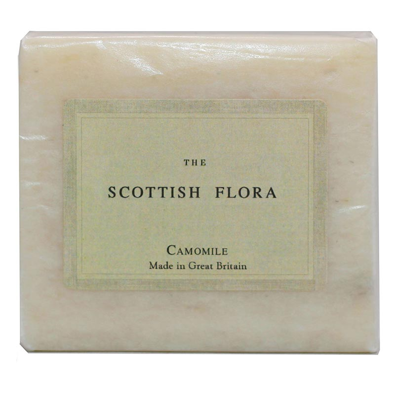 Scottish Flora Camomile Soap - Rainbow Life