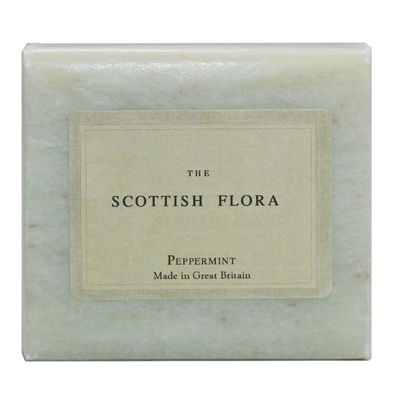 Scottish Flora Peppermint Soap - Rainbow Life