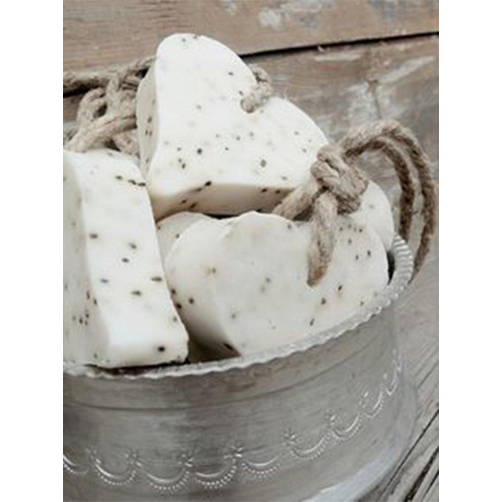 Love Heart Soap-White Fig