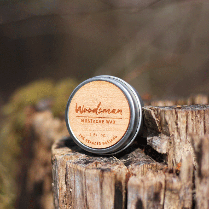 Beared Bastard Mustache Wax - Rainbow Life