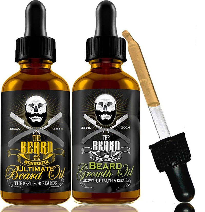 Ultimate and Beard Growth Oil Combo