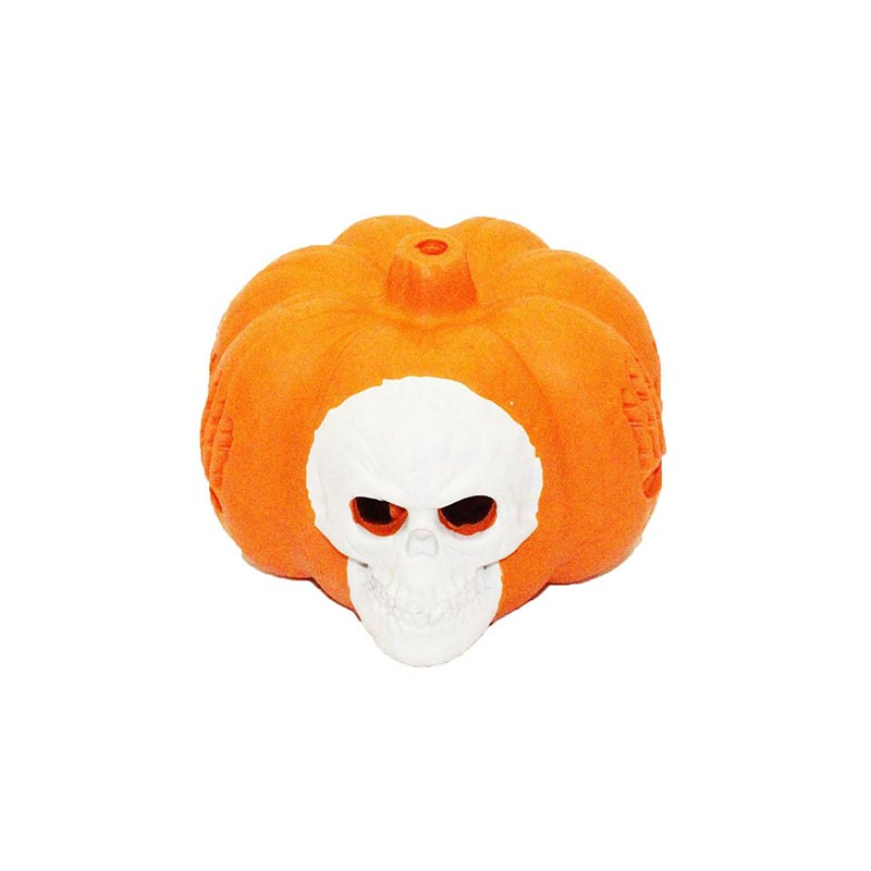 Pumpkin Chew Toy-Skull