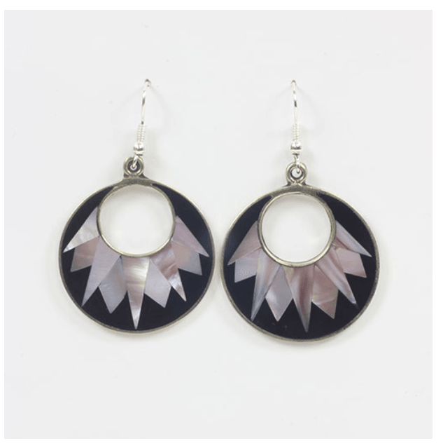 Mexican Ice Burst Earrings