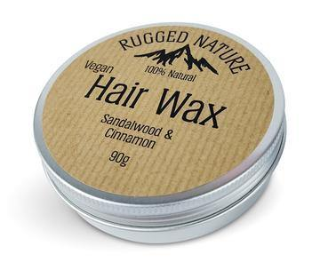 Hair Wax-Sandalwood and Cinnamon