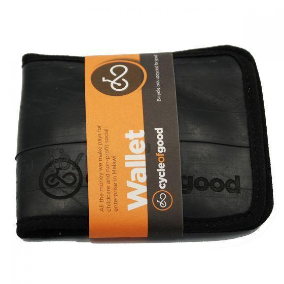Upcycled Bicycle Inner Tube Wallet- The Ndalama