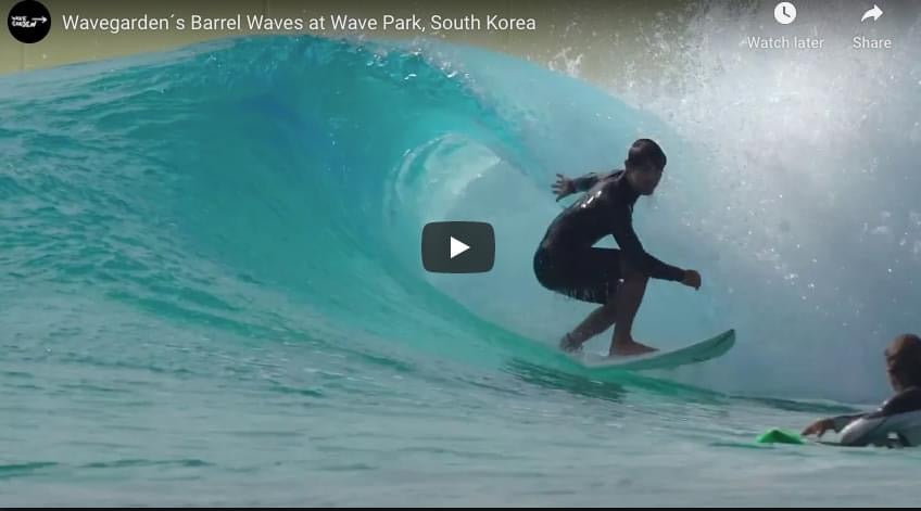 The South Korean Wave Park Looks Nuts!