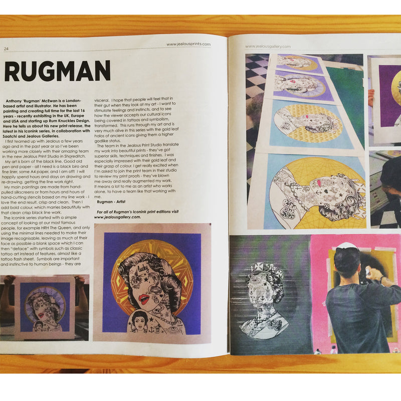 Feature in Art News Magazine 2016