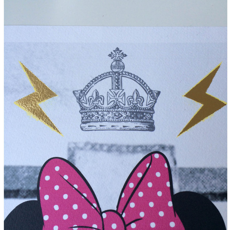 ELECTRIC MINNIE - Print
