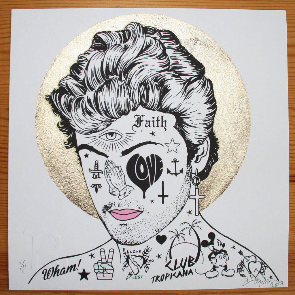 GEORGE MICHAEL (Mini) - Print