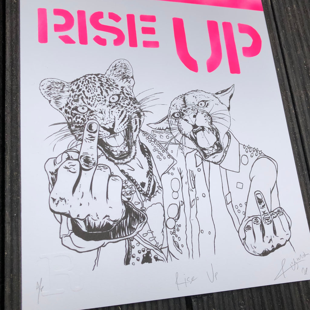 RISE UP - Pink