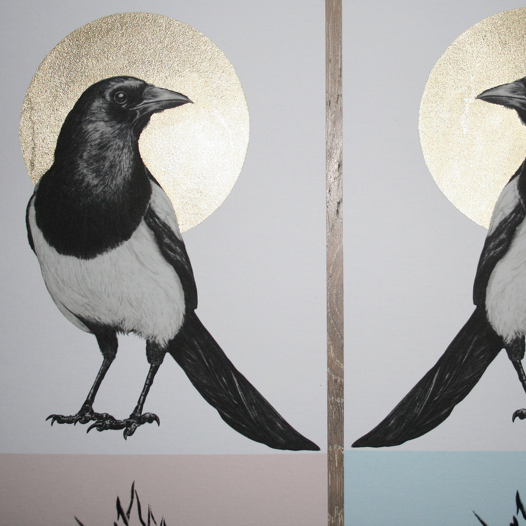 JOY MAGPIE (Mix) - Print