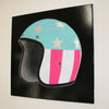 USA Helmet Black Canvas