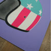 EASY RIDER (Silver Stars on Purple) - Print