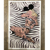 Zebra 50's Pin Up