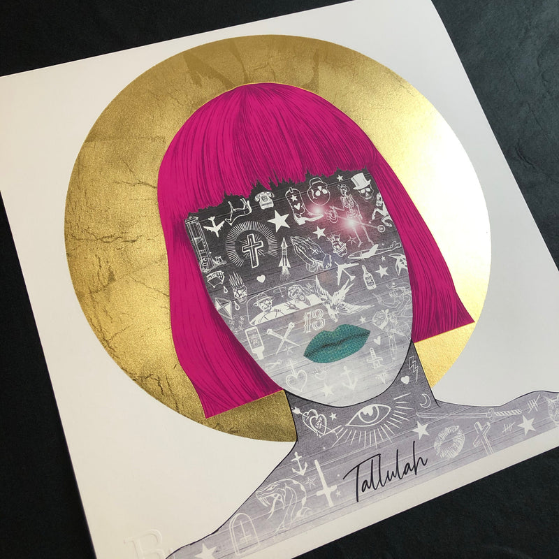 FEEDER Tallulah Art Print