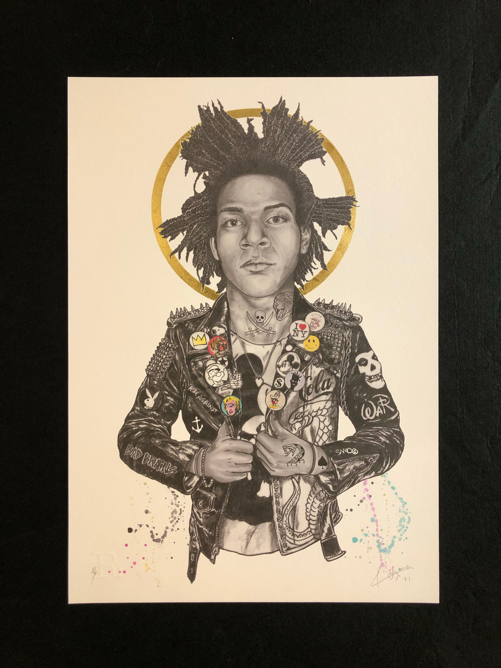 Copy of Pop Art Punk - Basquiat