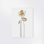 "Load image into Gallery viewer, 5x7 ""POPPIES"" PRINT"