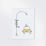 "Load image into Gallery viewer, ""TAXI"" 5x7 PRINT"
