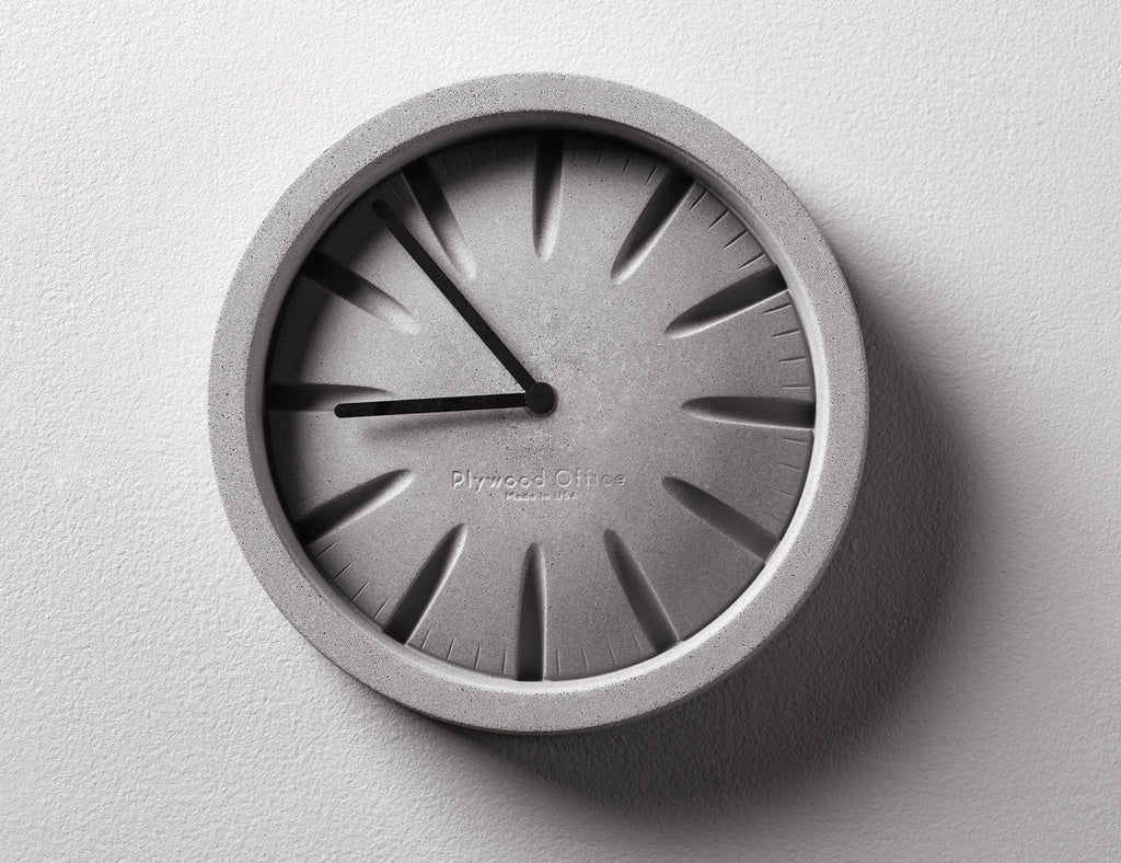 PO Concrete Clock