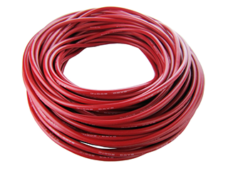 08 Gauge Silicone Wire 1'  Red