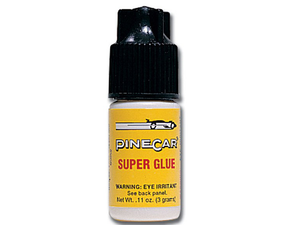 Pine Car Super Glue