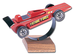 Pine Car Racer Display Stand