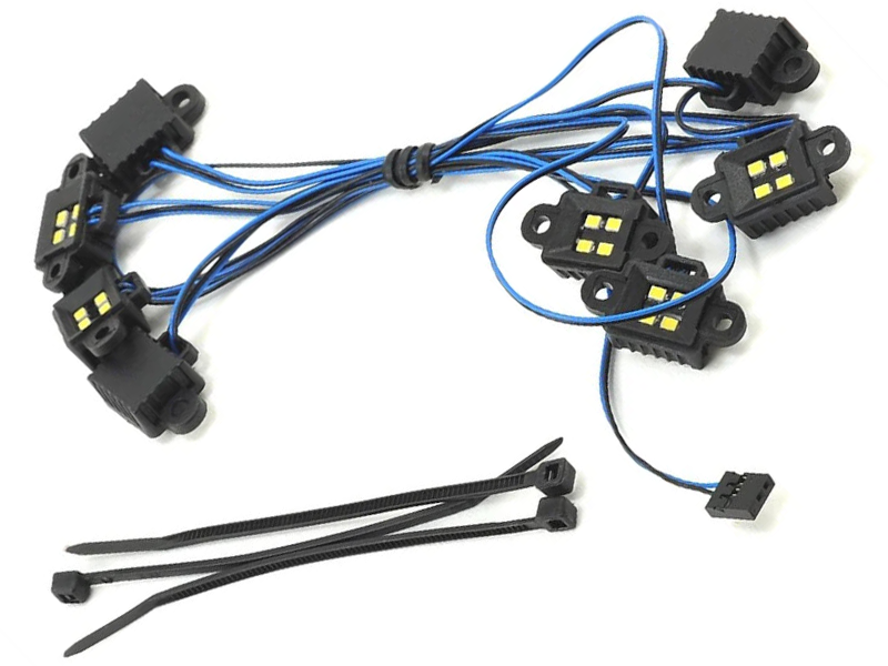 LED Rock Light Kit: TRX4/TRX6 (Requires 8028 Power Supply)